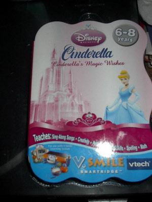 V Smile - Disneys Cinderella - Magic Wishes | V Tech Disney Smartridge